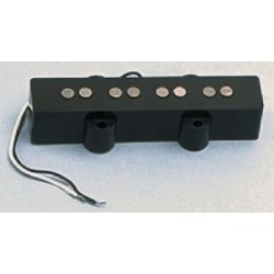 ALL PARTS PU0421023 NECK PICKUP FOR J BASS WITH BLACK COVER 71K OHMS