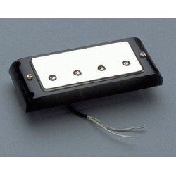 ALL PARTS PU0419010 HUMBUCKING BRIDGE PICKUP FOR GIBSON BASS, WITH COVER & BLACK RING, 100K OHMS