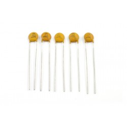 ALL PARTS EP0061000 01 MFD CERAMIC DISC CAPACITORS.