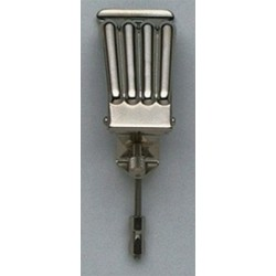 ALL PARTS BJ0985001 BANJO TAILPIECE CLAMSHELL STYLE NICKEL
