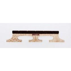 ALL PARTS BJ05110E0 5-STRING GROVER BANJO BRIDGE 72 1/2 TALL EBONY TOP 3 LEG