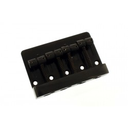 ALL PARTS BB3410003 ECONOMY HEAVY-DUTY BASS BRIDGE, BLACK, 2-1/4 STRING SPACING