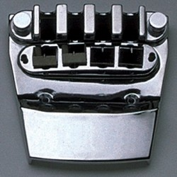 ALL PARTS BB0316010 BASS BRIDGE AND TAILPIECE FOR RICKENBACKER BASS CHROME