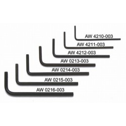 ALL PARTS AW4212003 3/32 ALLEN WRENCHES