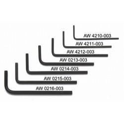 ALL PARTS AW4211003 1/16 LLAVE ALLEN. UNIDAD