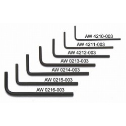 ALL PARTS AW4211003 1/16 ALLEN WRENCHES