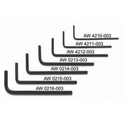ALL PARTS AW4210003 0.50 LLAVE ALLEN. UNIDAD