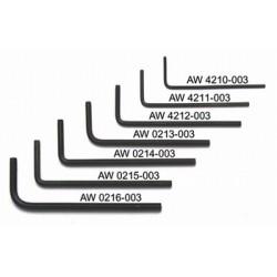 ALL PARTS AW0216003 3 MM LLAVE ALLEN. UNIDAD