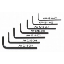 ALL PARTS AW0215003 25 MM ALLEN WRENCHES