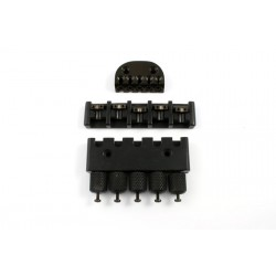 ABM BB0343003 HEADLESS SYSTEM-HEADPIECE, BRIDGE AND TUNING TAILPIECE BLACK 2-9/16-2-13/16