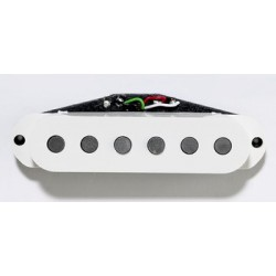 RAZOR SSP STACKED HUMBUCKING, FITS IN SINGLE COIL HOLE, WITH COVER, 185K OHMS