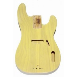 ALL PARTS TBBFBLND REPLACEMENT BODY FOR TELE BASS, ALDER, SEE-THROUGH BLONDE FINISH