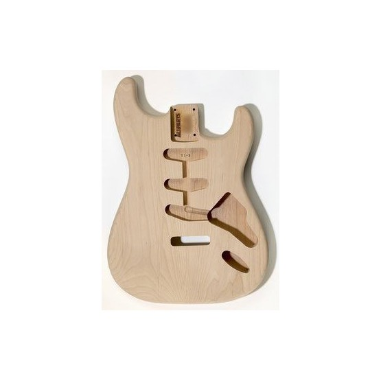 ALL PARTS SBO REPLACEMENT BODY FOR STRAT ALDER TRADITIONAL TREMOLO ROUTING NO FINISH