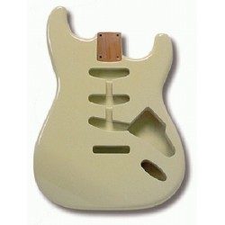 ALL PARTS SBFOW REPLACEMENT BODY FOR STRAT ALDER TREMOLO ROUTING WHITE FINISH