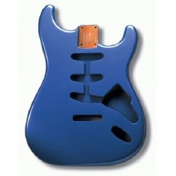 ALL PARTS SBFLPB REPLACEMENT BODY FOR STRAT ALDER TREMOLO ROUTING BLUE FINISH