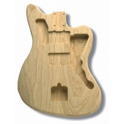 ALL PARTS JZMAO REPLACEMENT BODY FOR JAZZMASTER, SWAMP ASH, TRADITIONAL ROUTING, NO FINISH