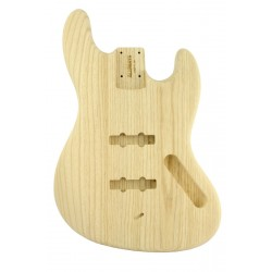 ALL PARTS JBAO REPLACEMENT BODY FOR JBASS SWAMP ASH, TRADITIONAL ROUTING, NO FINISH