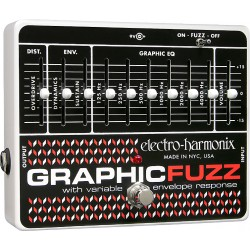 ELECTRO HARMONIX GRAPHIC FUZZ PEDAL DISTORSION