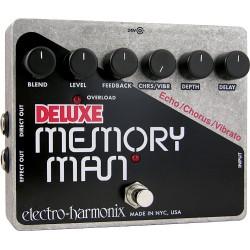 ELECTRO HARMONIX DELUXE MEMORY MAN PEDAL DELAY CHORUS VIBRATO ANALOGICO