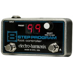 ELECTRO HARMONIX 8-STEP PROGRAM FOOT CONTROLLER CONTROLADOR