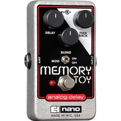 ELECTRO HARMONIX MEMORY TOY PEDAL DELAY ANALOGICO