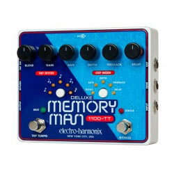 ELECTRO HARMONIX DELUXE MEMORY MAN TEMPO 1100 PEDAL DELAY