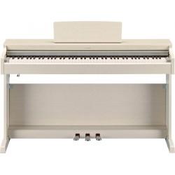 YAMAHA YDP163WA PIANO DIGITAL ARIUS BLANCO CENIZA MATE.