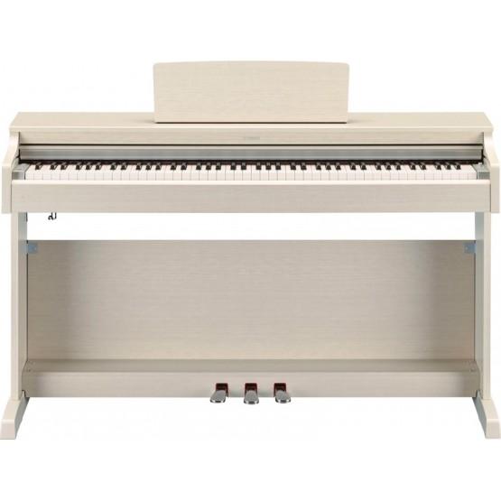YAMAHA YDP163WA PIANO DIGITAL ARIUS BLANCO CENIZA MATE. DEMO.