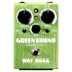 DUNLOP WHE207 WAY HUGE GREEN RHINO MKIV PEDAL OVERDRIVE