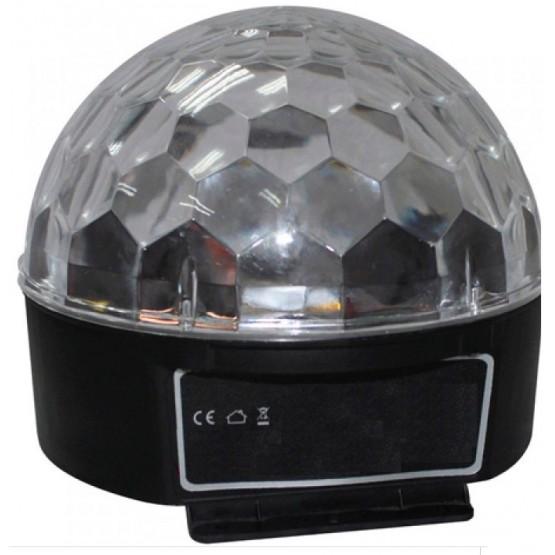 ACOUSTIC CONTROL MAGIC BALL BOLA DE LUZ LED RGB Y BLANCO