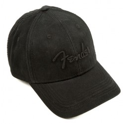 FENDER 9106645000 BLACKOUT BASEBALL GORRA NEGRA