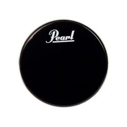 PEARL EB22BDPL BLACK BEAT PARCHE BOMBO 22 NEGRO CON LOGO PEARL