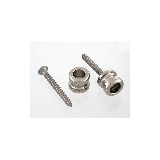SCHALLER AP0683001 BRAND BUTTONS ONLY FOR STRAP LOCK SYSTEM, WITH SCREWS (2), NICKEL.