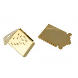 ALL PARTS MT0987002 MANDOLIN TAILPIECE WITH COVER GOLD