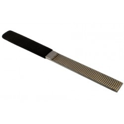 "ALL PARTS LT4524000 MEDIUM, FLAT WOOD CARVING FILE 16MM (5/8"") X 150MM (590"") WITH RUBBER HANDLE"