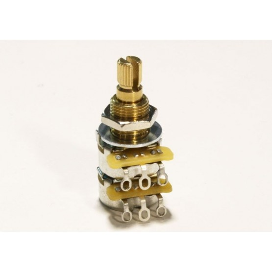 ALL PARTS EP6386000 500K CTS BALANCE/BLEND AUDIO TAPER POT WITH CENTER DETENT WITH HARDWARE