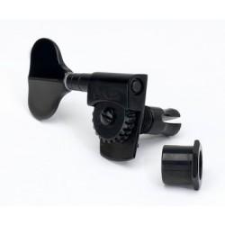SCHALLER TK0989003 2 X 2 SET OF SCHALLER M4S BASS KEYS WITH BLACK FINISH