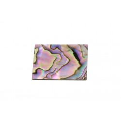 ALL PARTS LT1470081 GREEN ABALONE (PAUA SHELL) BLANK 1 X 11/2 X