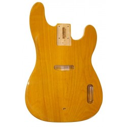 ALL PARTS TBBF0S REPLACEMENT BODY FOR TELECASTER REG BASS ALDER BODY BUTTERSCOTCH POLY FINISH