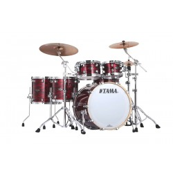 TAMA PR52HZSROY SH KIT PERFOMER BB EFX BATERIA ACUSTICA RED OYSTER