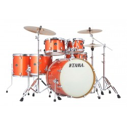 TAMA VD62RSBOS SH KIT SILVERSTAR BATERIA ACUSTICA BRIGHT ORANGE SPARKLE