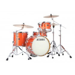 TAMA VD48SBOS SH KIT SILVERSTAR BATERIA ACUSTICA BRIGHT ORANGE SPARKLE