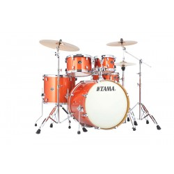 TAMA VD52KRSBOS SH KIT SILVERSTAR BATERIA ACUSTICA BRIGHT ORANGE SPARKLE