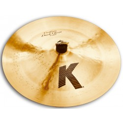 ZILDJIAN K CUSTOM DARK PLATO 17 CHINA