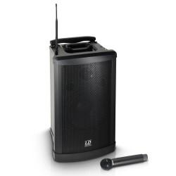 LD SYSTEMS RM 102 B6 ROADMAN ALTAVOZ DE PA PORTATIL CON MICROFONO DE MANO