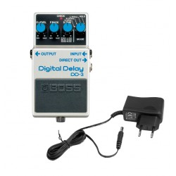 BOSS -PACK- DD3 PEDAL DELAY CON ALIMENTADOR PALMER PW9V
