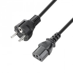 ADAM HALL 8101KA0300 CABLE CORRIENTE CEE 7 7 C13 3M