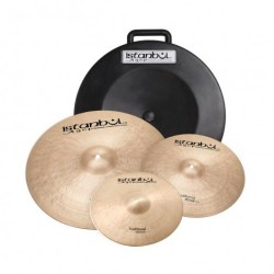 ISTANBUL AGOP SET 3 PLATOS TRADITIONAL CON FUNDA RIGIDA