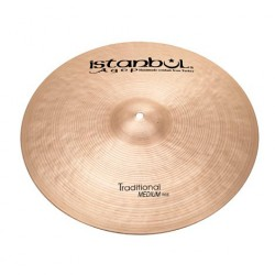 ISTANBUL AGOP TRADITIONAL MEDIUM RIDE 24 PLATO BATERIA