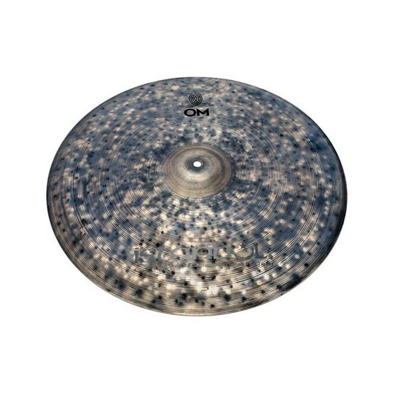 ISTANBUL AGOP SIGNATURE CINDY BLACKMAN OM CRASH 18 PLATO BATERIA